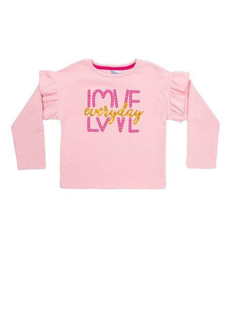 1 1060 blusa manga longa moletom infantil menina silk bem vestir blusa