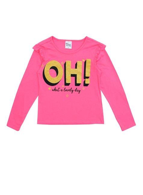1 1059 blusa meia malha infantil menina silk bem vestir blusa