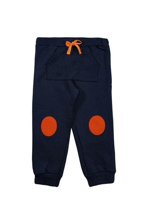 1 1092 calca moletom bebe menino com patch bem vestir calca