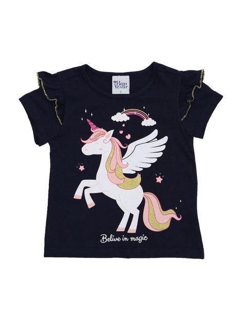 1 1072 blusa meia malha bebe menina silk bem vestir camiseta