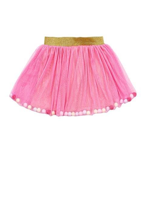 1 1079 saia tule bebe menina pompom bem vestir saia