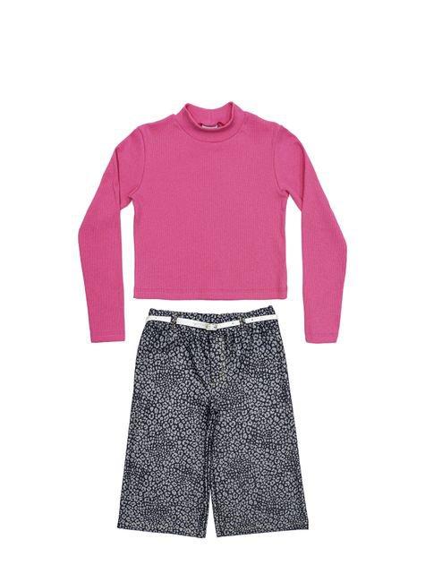 1 1068 conjunto ribana e cotton jeans infantil menina bem vestir cjt u 2