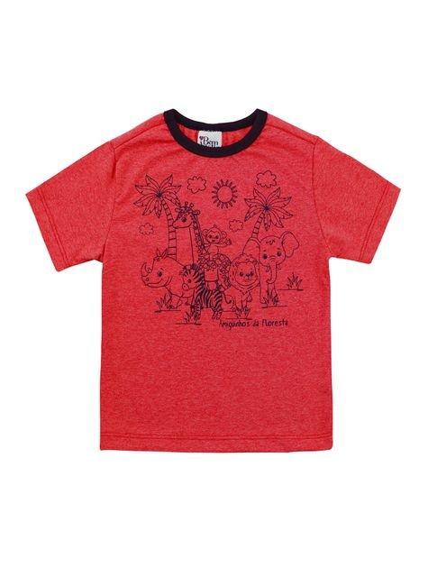 1 1091 camiseta curta bem vestir