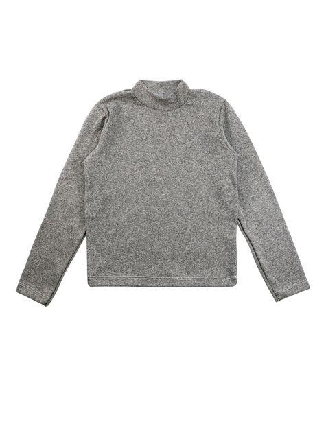 1 1554 blusa infantil unisex manga longa em ribana bem vestir