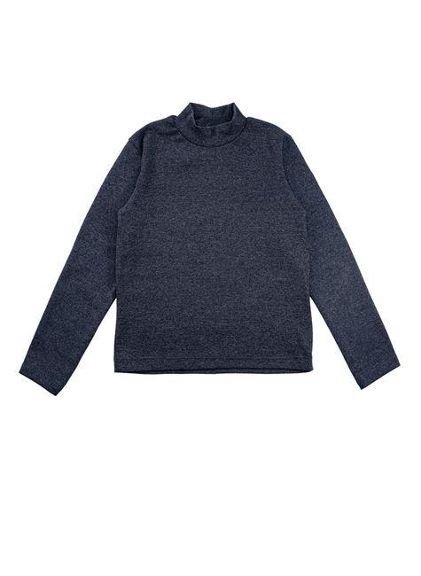 1 1556 blusa infantil unisex manga longa em ribana bem vestir