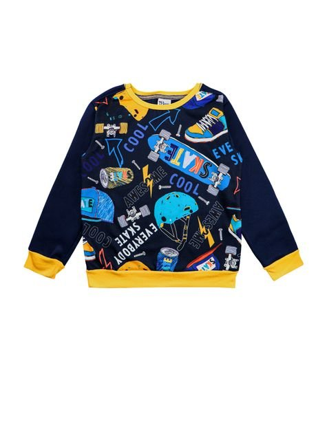 1 1393 casaco infantil menino em moletom sublimado bem vestir