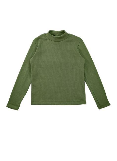 1 1598 blusa infantil unisex manga longa em ribana bem vestir