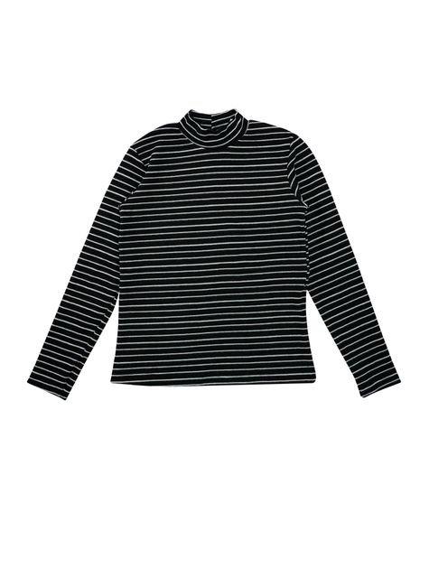 1 1603 blusa infantil unisex manga longa em ribana bem vestir