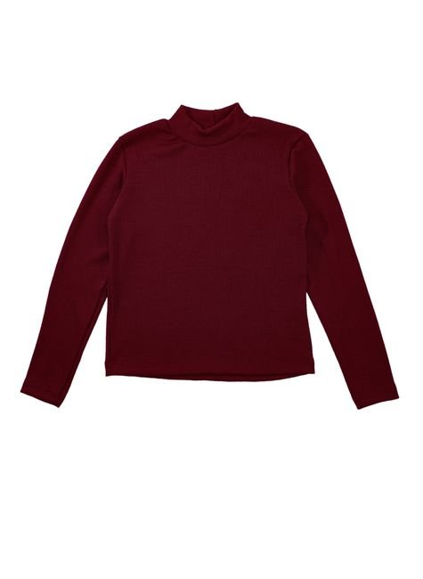 1 1597 blusa infantil unisex manga longa em ribana bem vestir