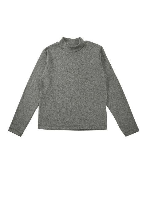 1 1602 blusa infantil unisex manga longa em ribana bem vestir