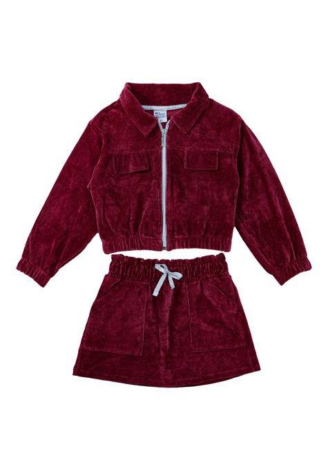 1 1409 conjunto infantil menina jaqueta saia em veludo cotele bem vestir grupo