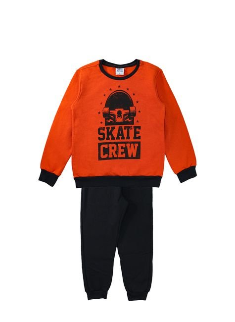 1 1298 conjunto moletom infantil menino silk bem vestir conjunto