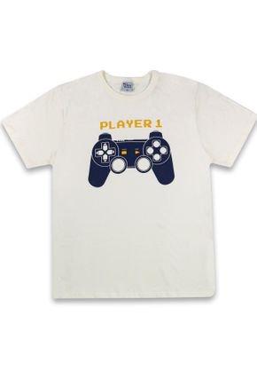 1 1263 camiseta player 1 em meia malha bem vestir