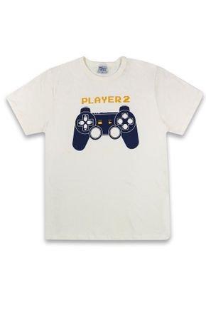 1 1264 camiseta player 2 em meia malha bem vestir