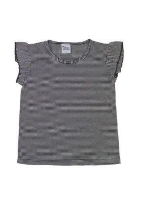 1 1729 blusa infantil menina com manga babados bem vestir blusa