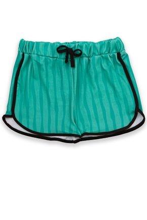 1 1823 short infantil menina poliester running bem vestir shorts