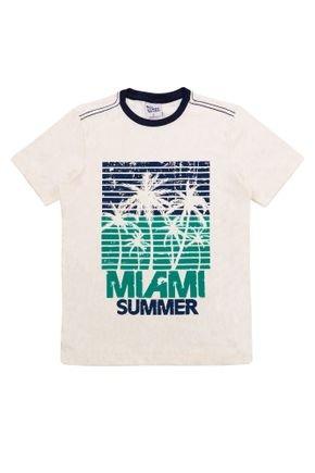 1 2086 camiseta infantil menino em meia malha com estampa bem vestir camiseta