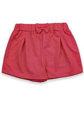 1 2165 short infantil menina em malha jeans bem vestir shorts